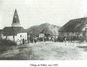 Le village en 1909
